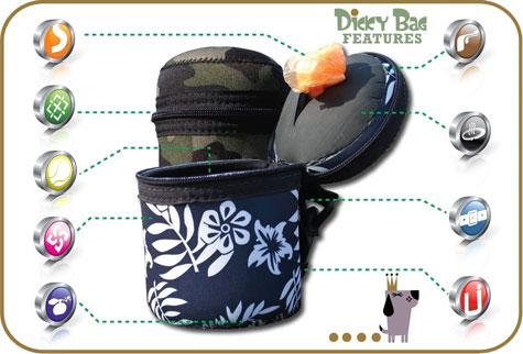 Pet Poop Scoops - Dicky Bag Features